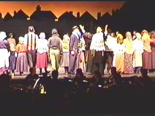 The Co-Presidents Reuinite in Fiddler on the Roof
