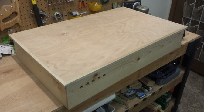 The lid is built