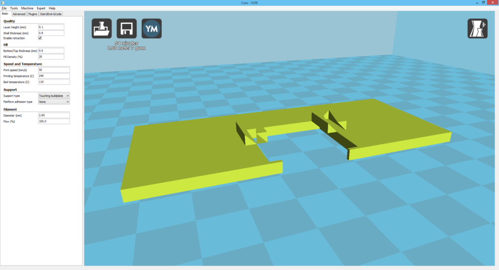 """the """"transporter malfunction"""" result in Cura"""