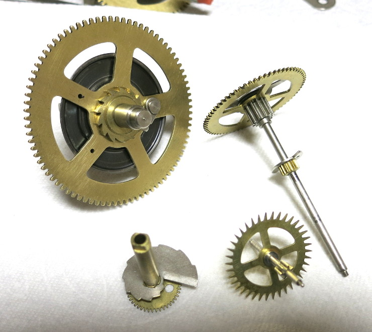 The easily identified gears of the Going (time) Train