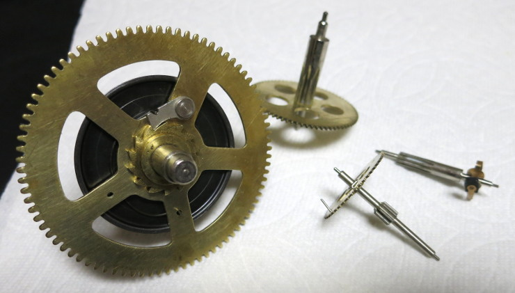 The easy to identify gears of the Strike train