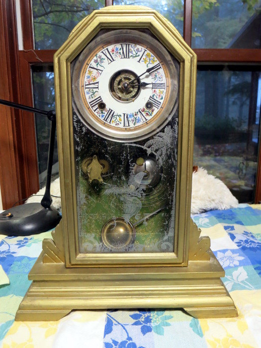 Ansonia Derby clock as-is