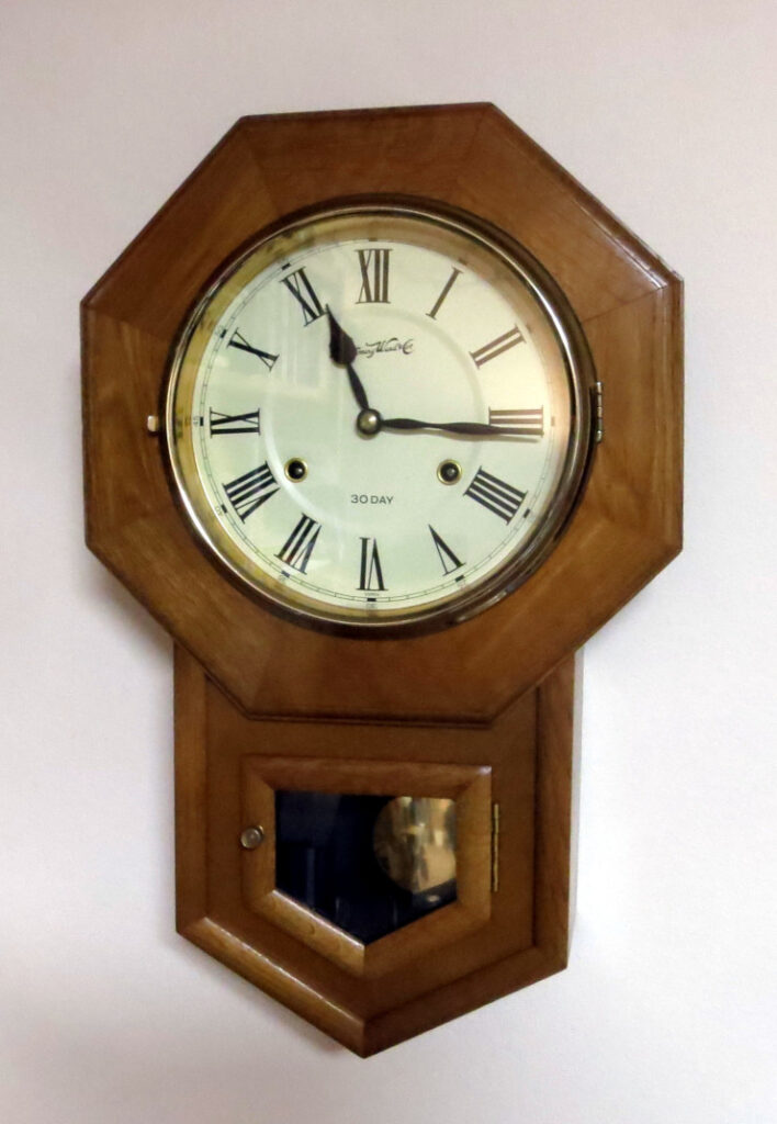 The finished Montgomery Ward clock