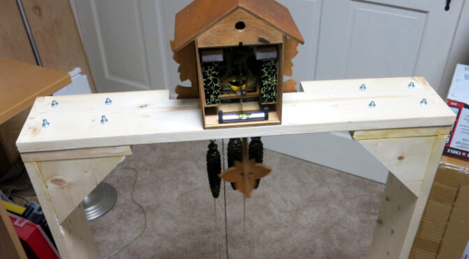Building a Cuckoo Clock Test Stand
