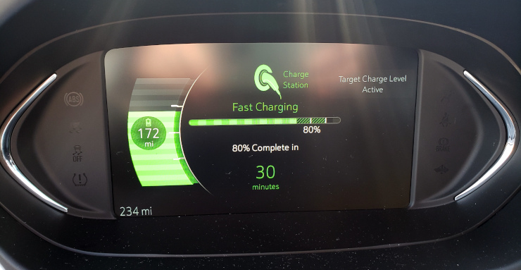 DC Fast Charging to 80%