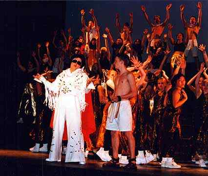 Adult Me, as The King in a cameo in Hil HI's Joseph
