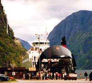 The fjord ferry