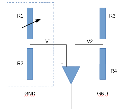 A Load Sensor paired with two external resistors