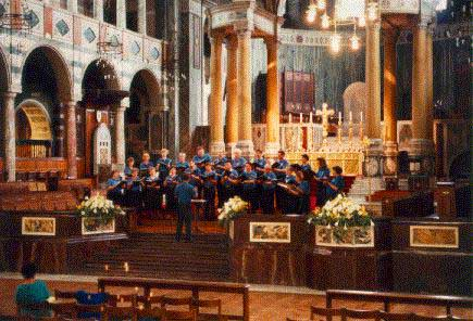 The Washington County (Oregon) Chorale in Westminster Cathedral