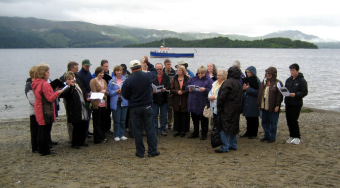 The Oregon Chorale on Tour in Ireland, Northern Ireland, and Scotland