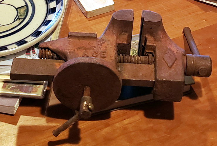 The vise when I bought it