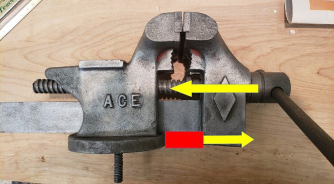 I (Stupidly) Bend the Vise Faces Parallel